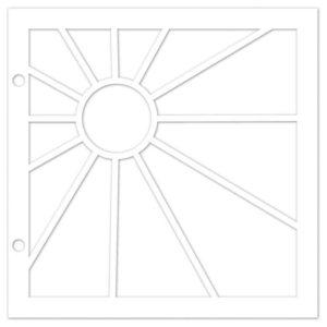 I_GAB 827 Set de 2 gabarits cartes géométriques