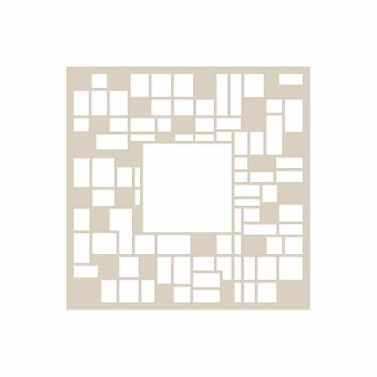 I_GAB 122 Gabarit Texture 'Carreaux' 15x15cm