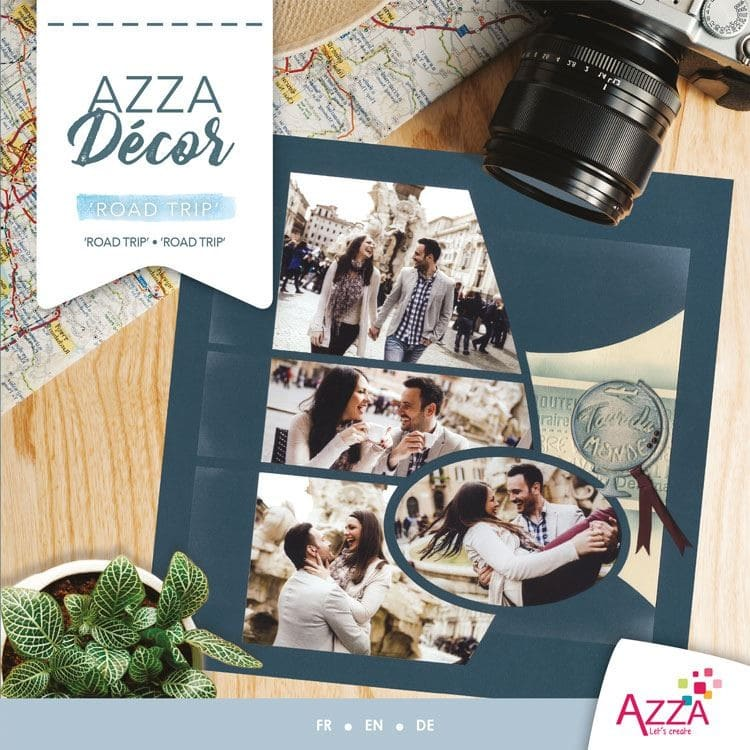 ALI 3025 Livre Azza décor 'Road trip'