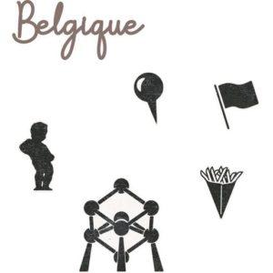 DIE 161 Matrices de découpe 'Belgique