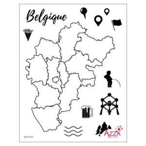 TAM 0101 Tampons diamant 'Belgique'