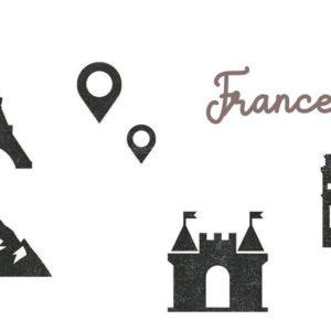 DIE 160 Matrices de découpe 'France'
