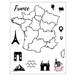 TAM 0100 Tampons diamant 'France'