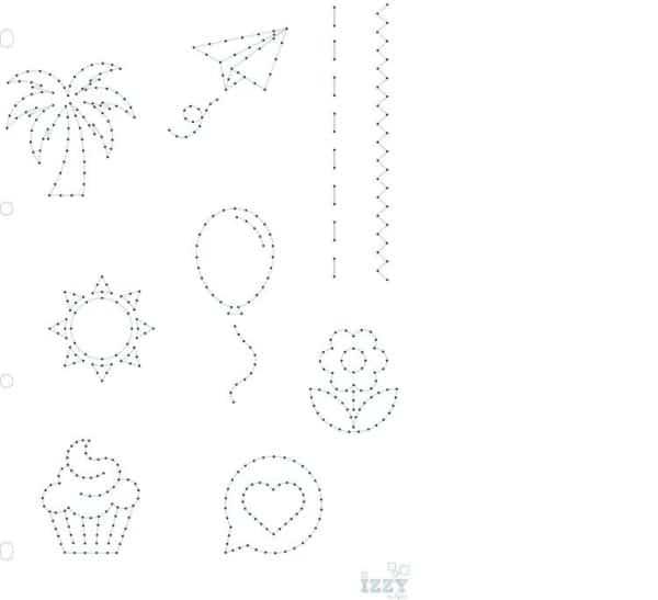 I_GAB 300 Gabarit couture 'Motifs' (A4)
