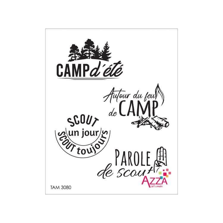 TAM 3080 Tampons rubis 'Grand camp'