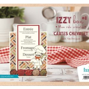 I_KIT 1110 Izzy box Technique 'Cartes Chevalet'