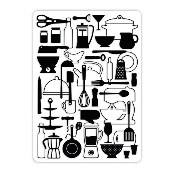 I_EMB 020 Classeur de gaufrage 'A table' (A6)