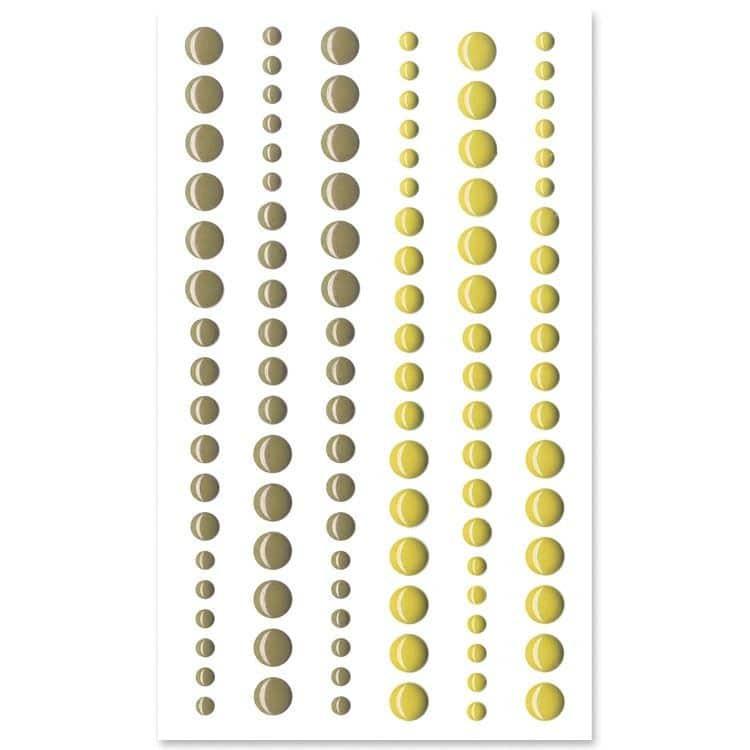 PER 4008 Perles de résine 'Sous-bois'