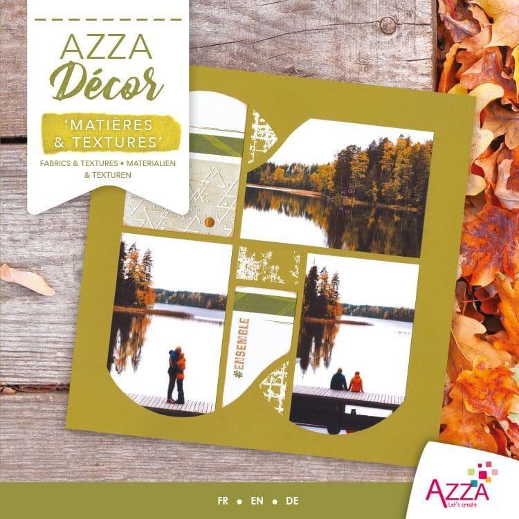 ALI 3026 Livre Azza Décor 'Matières & textures'