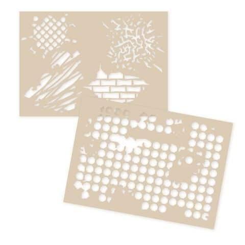 GAB 313 Gabarits décor et texture 'Matières & textures'