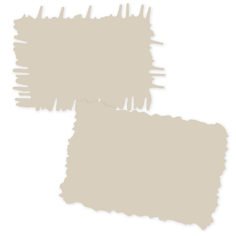 GAB 312 Gabarits bordure 'Matières & textures'