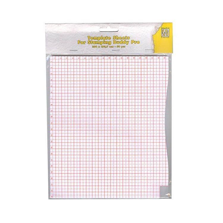 ACC 132 Feuilles de mesure pour plaque à tamponner (50 pcs)