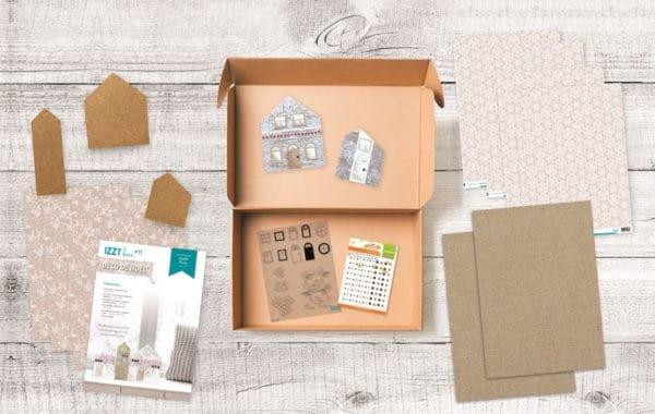 I_KIT 1116 Izzy box 'Déco de Noël'