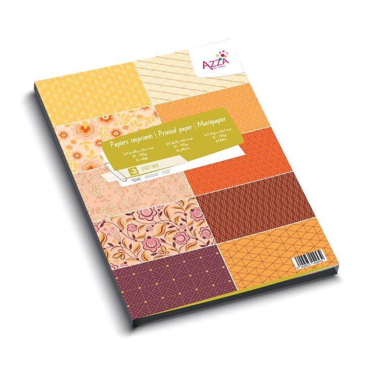 PAP 819 Bloc de papiers A4 'Essentiel Terre'