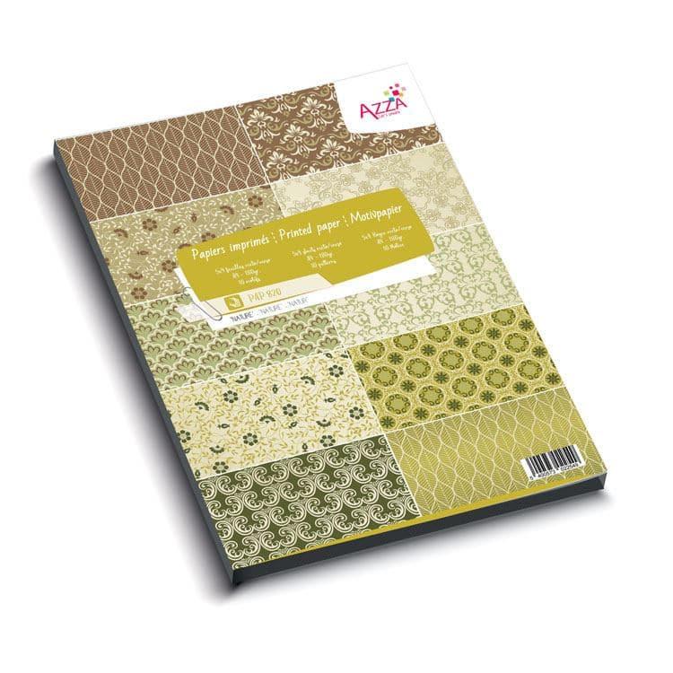 PAP 820 Bloc de papiers A4 'Essentiel Nature'