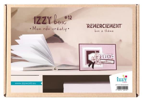 I_KIT 1117 Izzy box 'Remerciements'