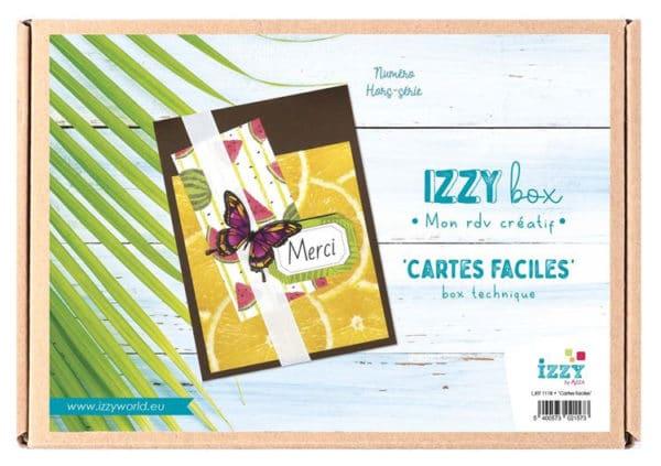 I_KIT 1118 Izzy Box 'Cartes faciles'