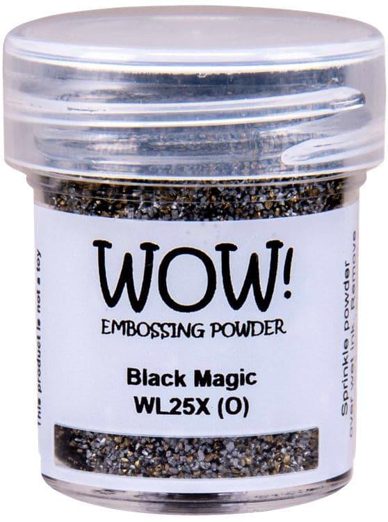 ACC 636 Poudre à embosser 'Black magic'