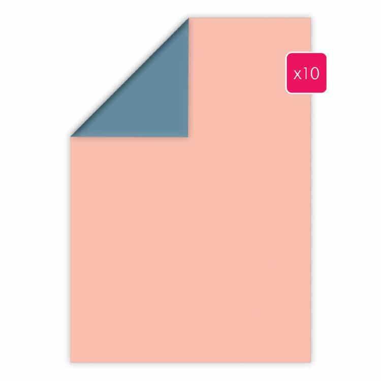 PAP 2023 Papier A4 duo 10p 'Sakura - Fuji' (10f)