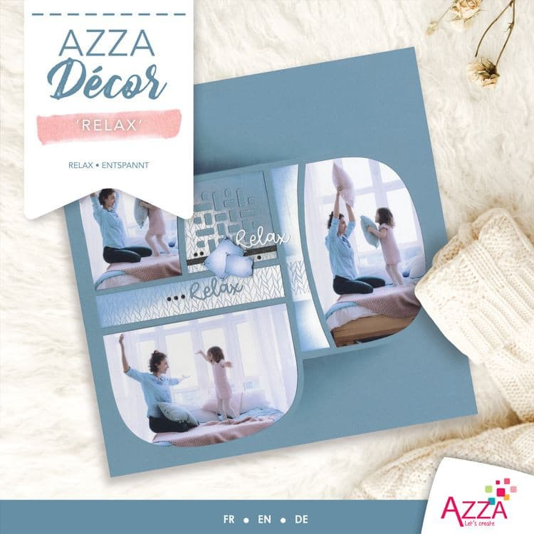 ALI 3028 Livre Azza Décor 'Relax'