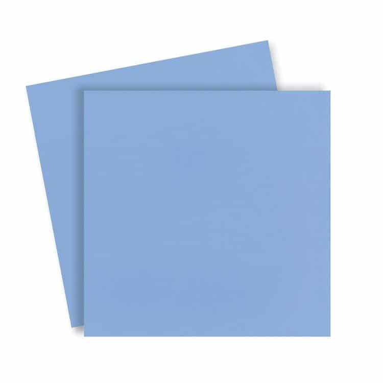 ACC 873 Duo de couvertures en plexi 31x31cm 'Bleu ciel'