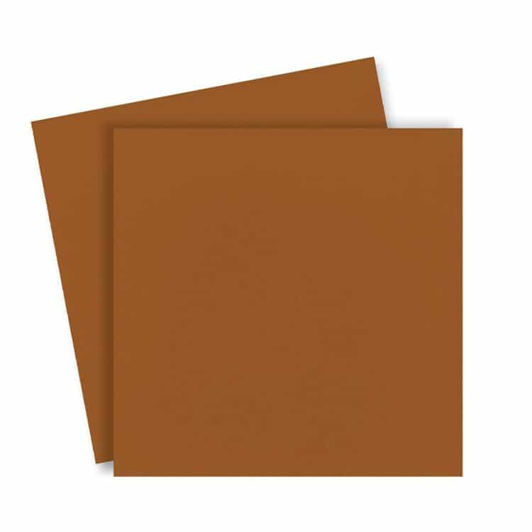 ACC 872 Duo de couvertures en plexi 31x31 cm 'Caramel'