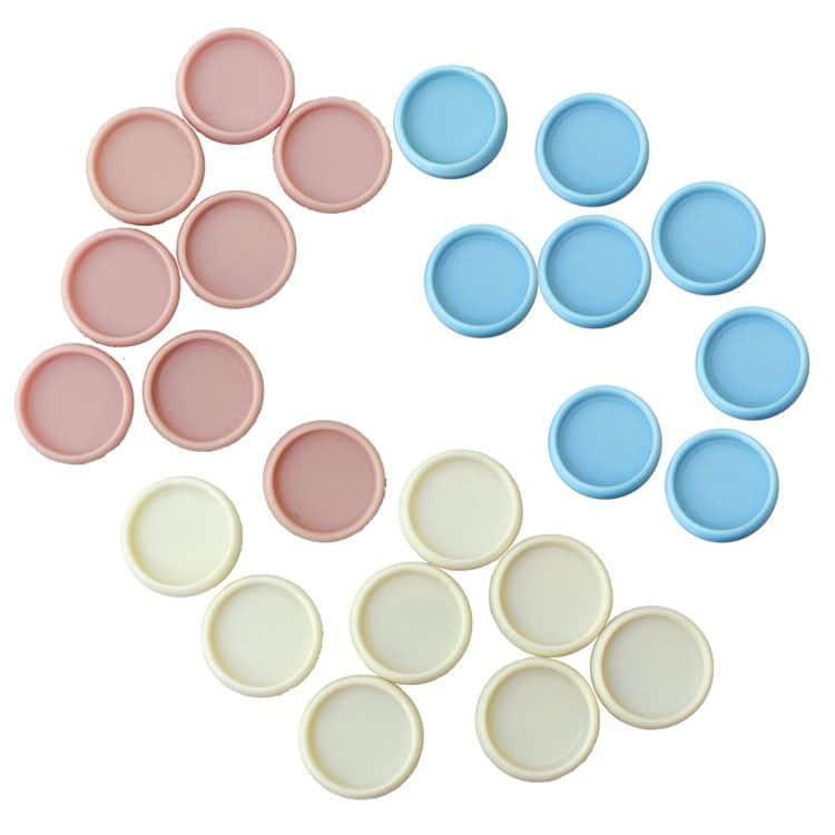 ACC 862 Disques de reliure mobile 18mm Pastels (24pcs)