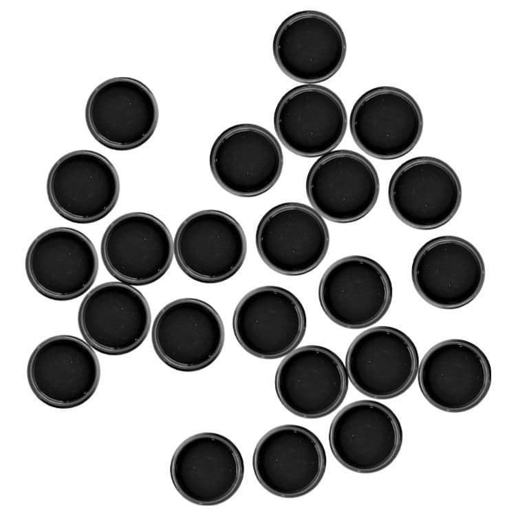 ACC 861 Disques de reliure mobile 18mm Noir (24pcs)