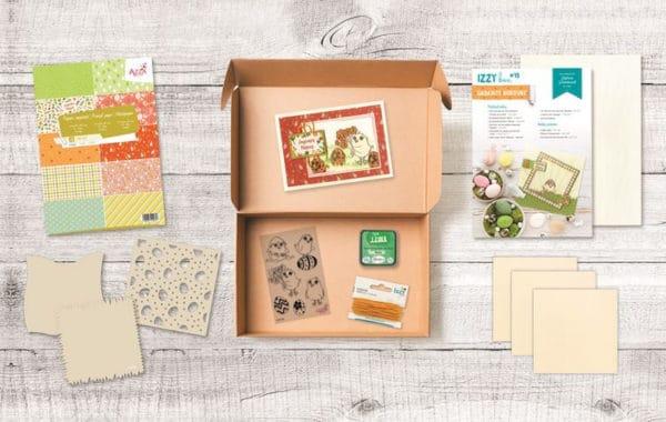KIT 1003 Izzy Box thème 'Gabarits bordure'