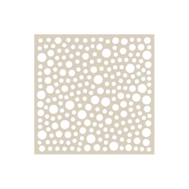 GAB 611 Gabarit Texture 15x15 'Pois'