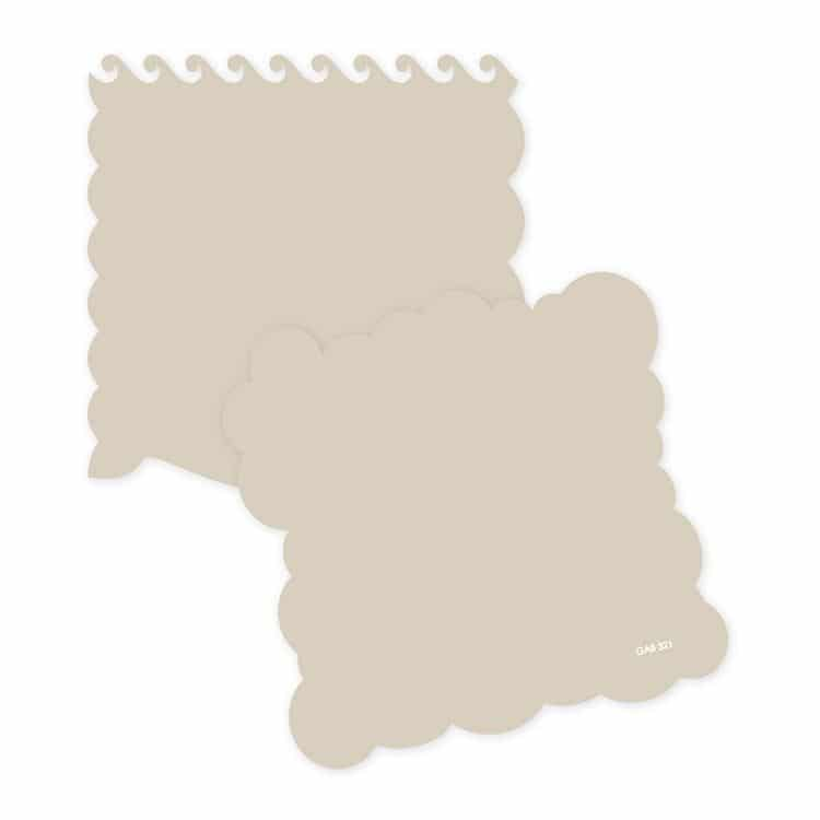 GAB 321 Gabarit bordure 'Mer'