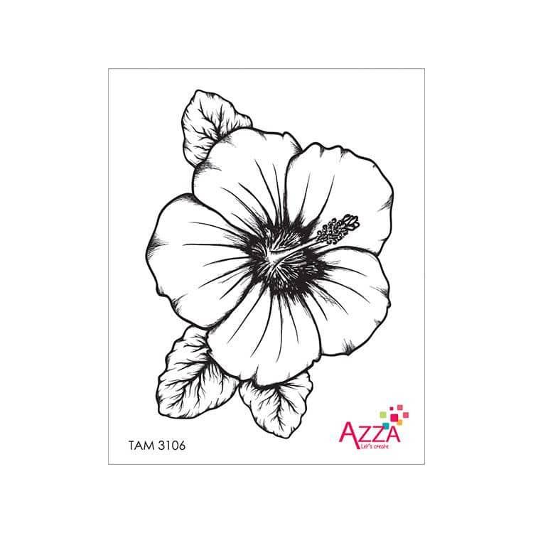TAM 3106 Tampons rubis 'Hibiscus'