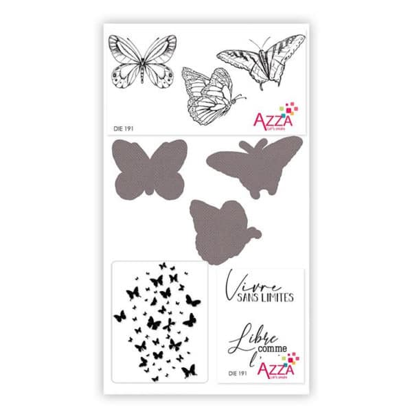 DIE 191 Mini collection 'Papillons'