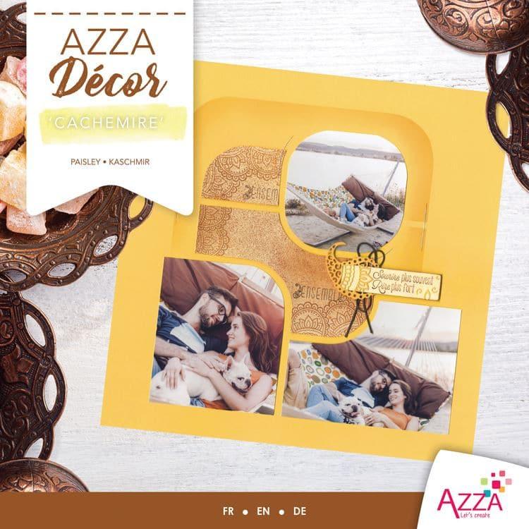 ALI 3029 Livre Azza Décor 'Cachemire'