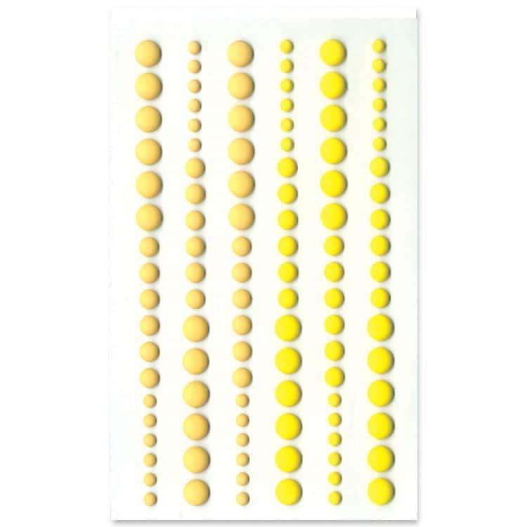 PER 4059 Perles de résine mat 'Beige'
