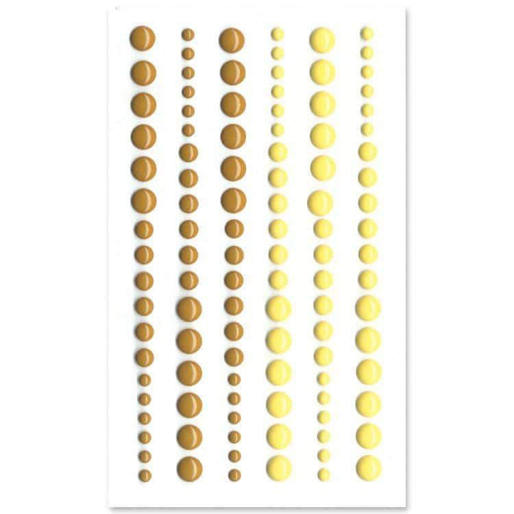 PER 4009 Perles de résine 'Caramel'