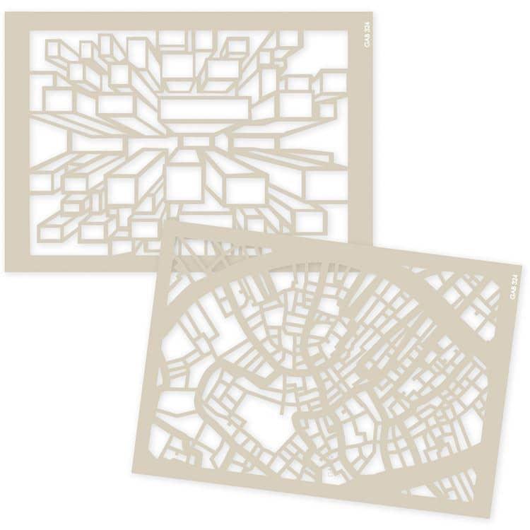 GAB 324 Gabarits texture 'Architecture'