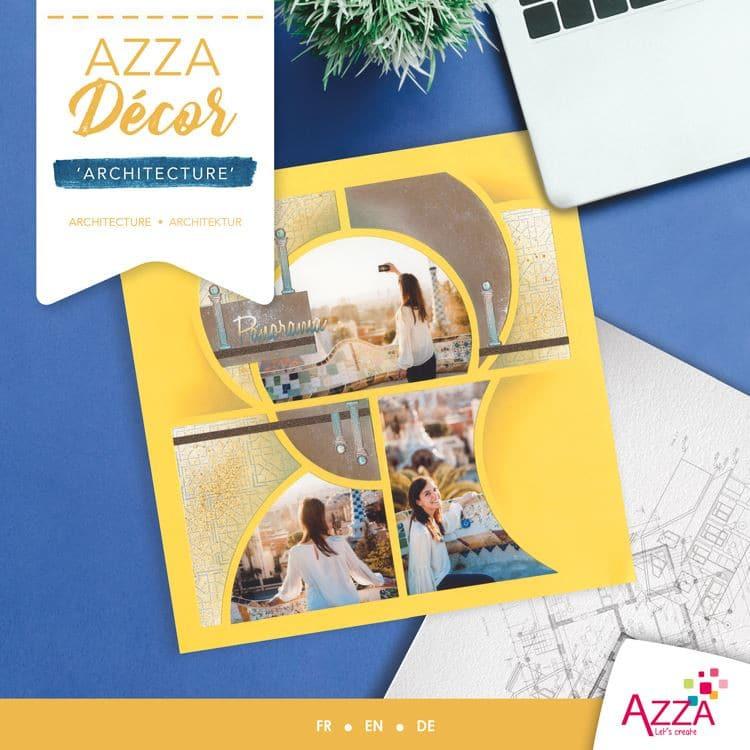 ALI 3030 Livre Azza décor 'Architecture'