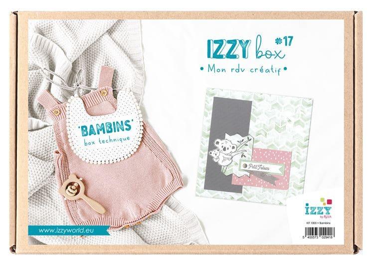 KIT 1005 Izzy Box 'Mini album 'Bambins