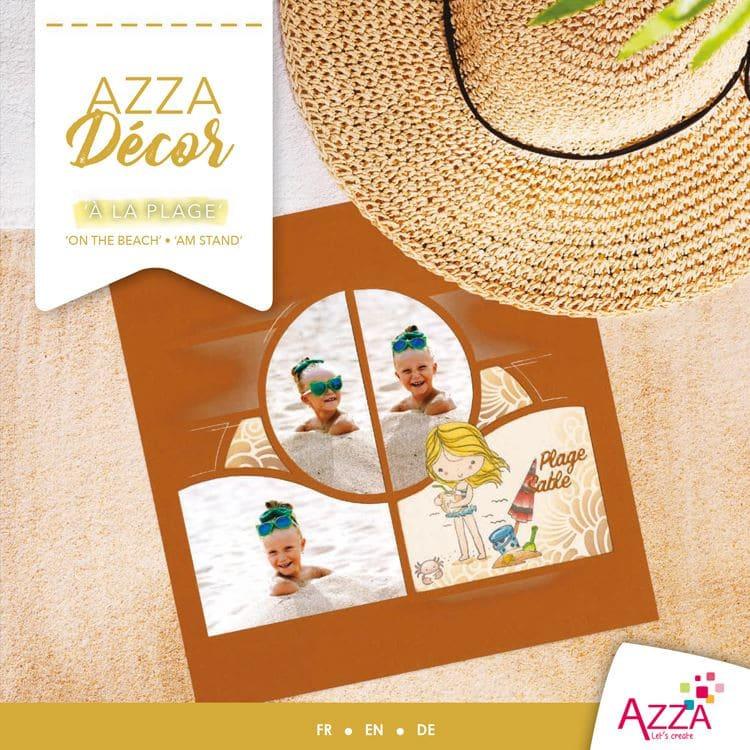 ALI 3031 Livre Azza décor 'A la plage'